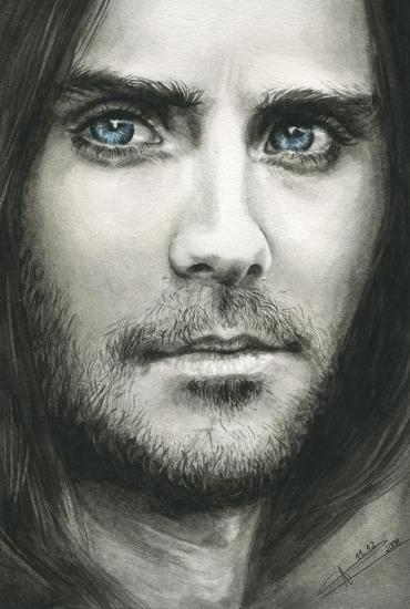 Jared Leto por Anja